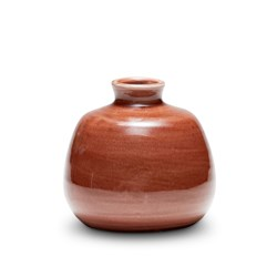 VESTIGE Vase - Red Earth