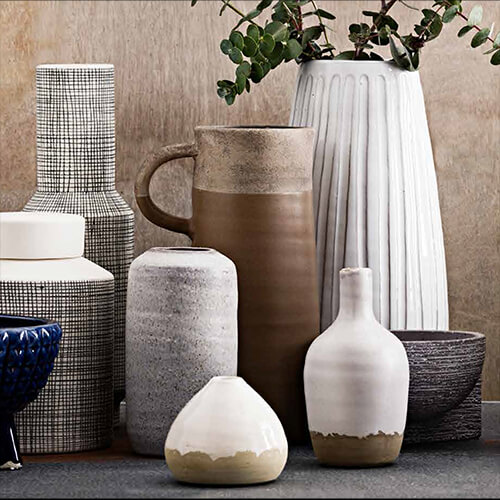 Breathe life into any room with vases and planters from Salt&Pepper