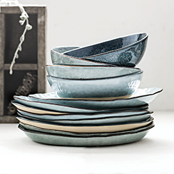L-N : salt and pepper dinnerware - Pezcame.Com
