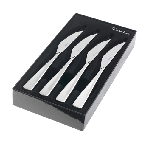 Robert Welch ASPEN  Bright Steak Knife - Set of 4