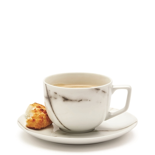 MARBLE Tea Cup and Saucer - 220ml