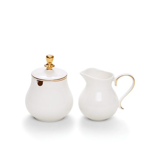 ECLECTIC Sugar Bowl and Creamer Set