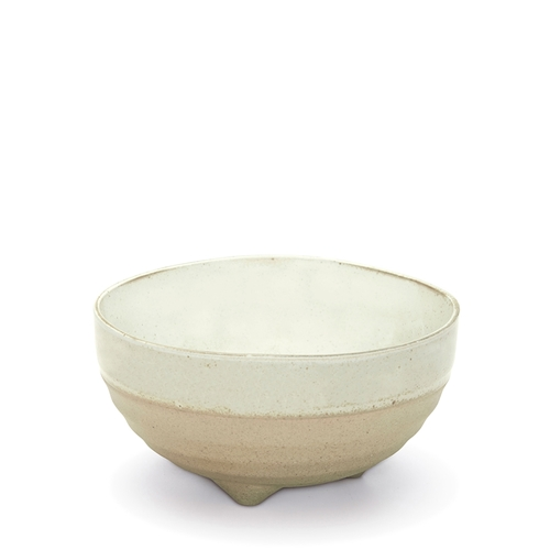 NOMAD Noodle Bowl - 14cm - Footed - White