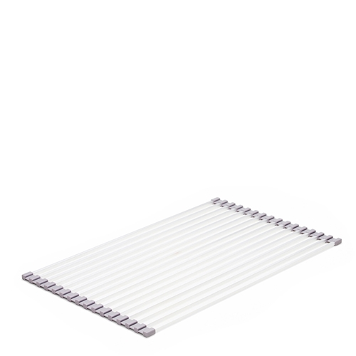SUBLIME Roll Up Dish Mat - Silver