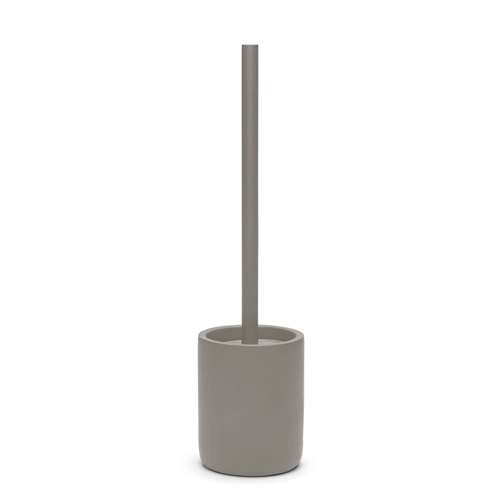 MANHATTAN Toilet Brush & Holder - Grey