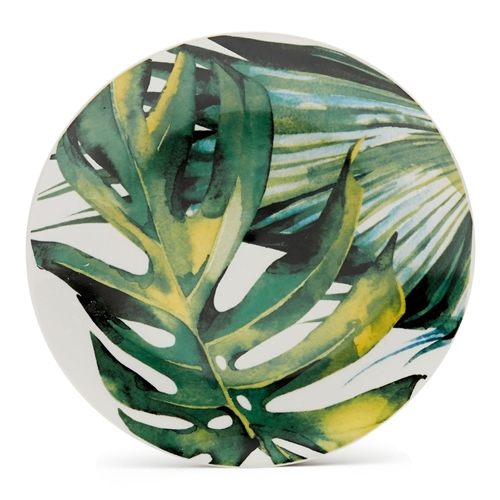 COLLECTIVE JUNGLE Plate - Green