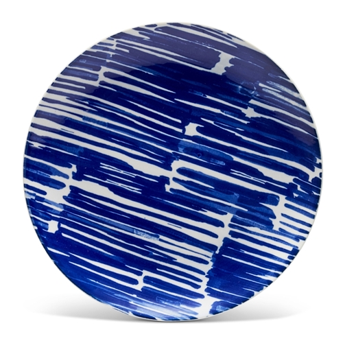 COLLECTIVE RAIN Plate - 21cm - Blue
