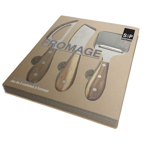 Fromage Cheese Knife Set - 3 Piece