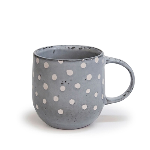 Naoko Mug - 380ml - Polka Grey