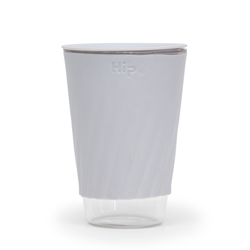 Hip Travel Cup - Cloud - Glass