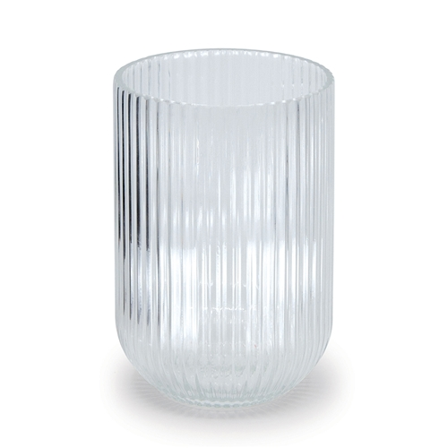 FINESSE Ribbed Vase - Medium