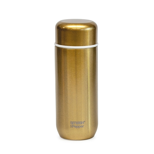 SMASH&PEPPER Flask - Gold