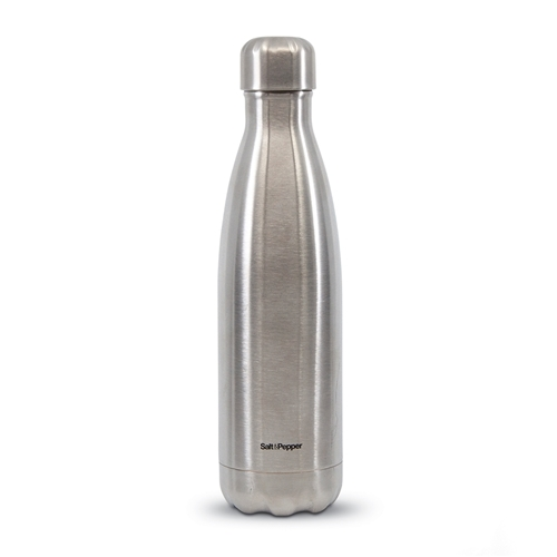 HYDRA Water Bottle - 500ml - Metallic Silver