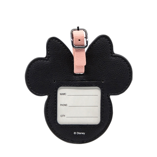 DISNEY Luggage Bag Tag - Minnie Pink