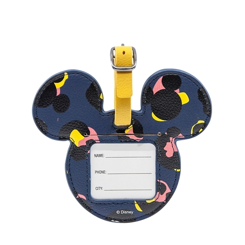 DISNEY Luggage Bag Tag - Mickey Blue