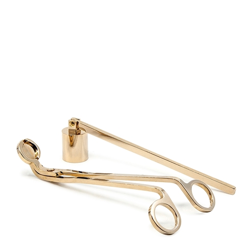 SENSES Candle Wick Trimmer and Snuffer Set - Gold