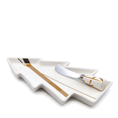 BLISS Platter and Pate Knife Set - 25cm