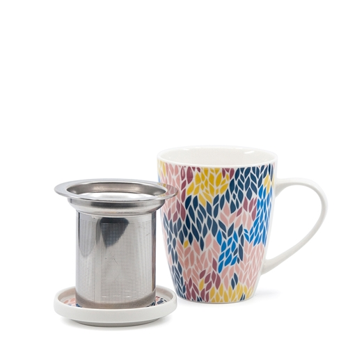 VERSICO Mug and Strainer Set - Multi