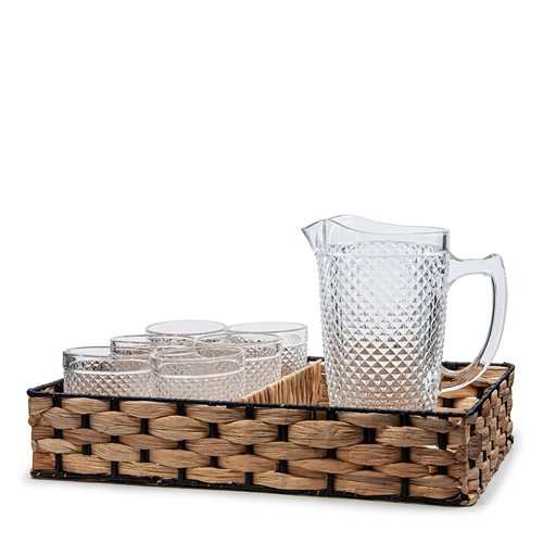 WOVEN Drink Set - 7-Piece