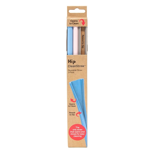 Hip Cleanstraw - Set of 3 - Lights