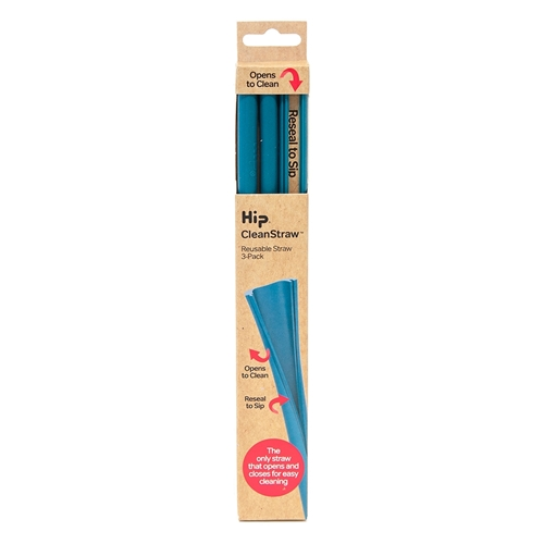 Hip Cleanstraw - Set of 3 - Jade