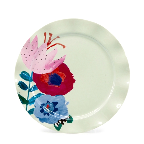 WILLOW Plate - 20cm - Flute