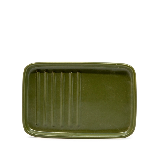 STRAND Spoon Rest - 15cm - Olive