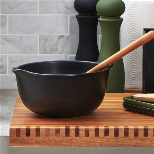 STRAND Mixing Bowl - 1.6 litre - Black