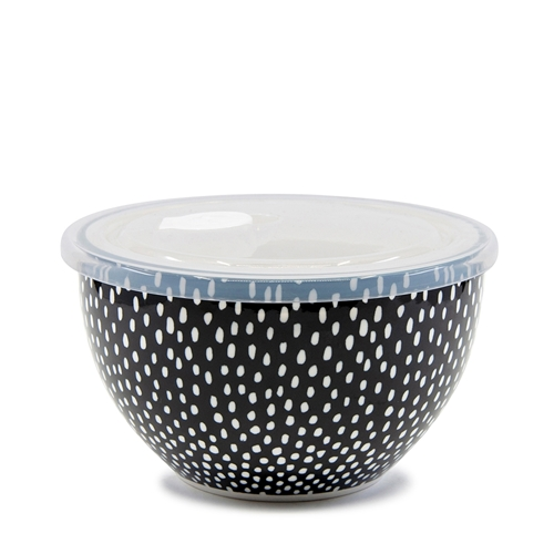LUNCH2GO Bowl with Lid - 15x9cm - Seed