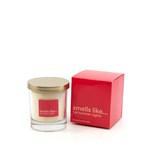 SMELLS LIKE Candle Pot - 190g - Hot Summer Nights