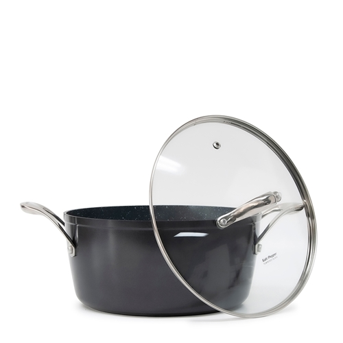TAN-IUM Casserole with Glass Lid - 24cm