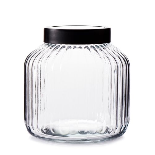 BREW Glass Canister Set - 3-Piece - 3-Litre