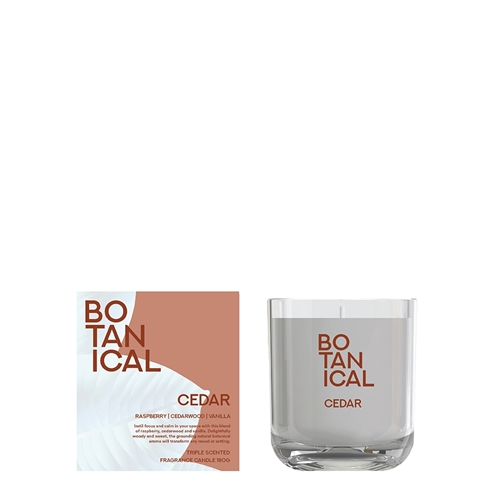 Botanical Candle - Cedar - 180g
