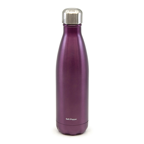 HYDRA Water Bottle - 750ml - Metallic Plum