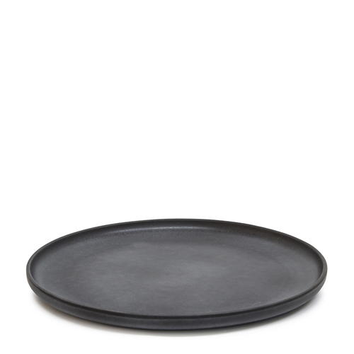 Major Round Serving Platter - 33cm - Black