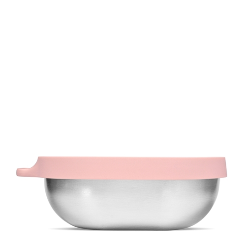 HIP Stainless Steel Salad Bowl - 1.1 Litre - Dusty Pink