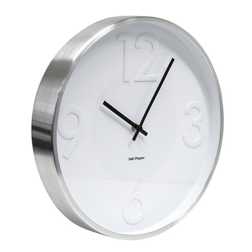 Landon Clock - 31cm - White