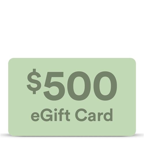 $500 eGift Card