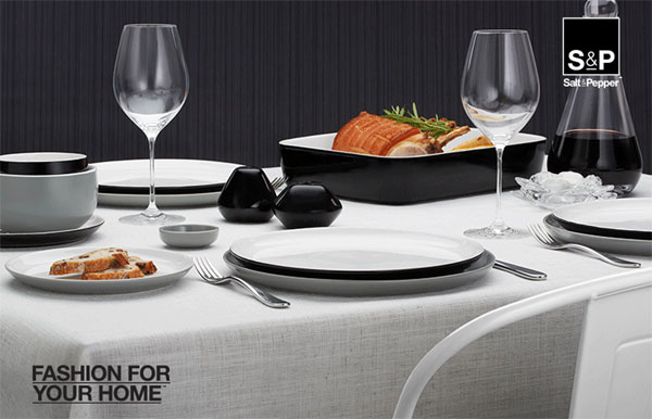 Modern and sophisticated winter dining