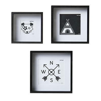 Lamps and Photo Frames - Salt and Pepper