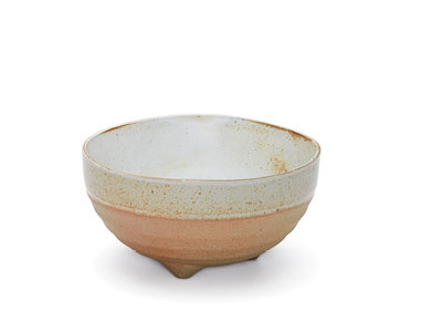 NOMAD Footed Bowl White