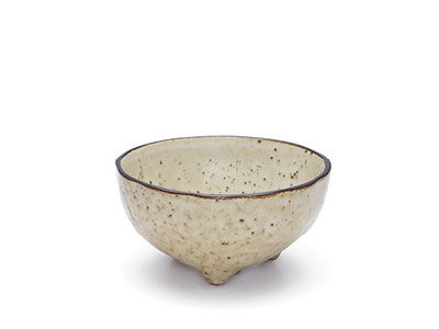 NOMAD Footed Bowl Natural
