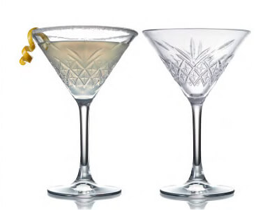 WINSTON Martini Glasses