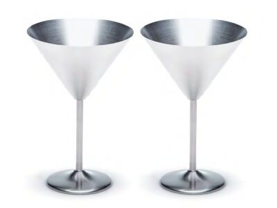BOND Martini Glasses